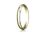Benchmark® 14k Gold 3.0mm Slightly Domed Super Light Comfort-fit Wedding Band / Ring style: SLCF130