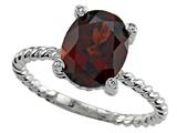 Genuine Garnet Ring by Effy Collection