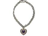 Amethyst Sterling Silver Bracelet by Effy Collection style: 520095