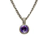 Amethyst Sterling Silver Necklace by Effy Collection style: 520110