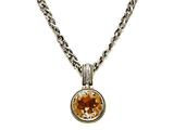 Citrine Sterling Silver Necklace by Effy Collection style: 520113