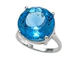 Genuine Blue Topaz Ring by Effy Collection