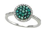 Genuine Emerald and Diamond Ring by Effy Collection