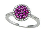 Genuine Ruby and Diamond Ring by Effy Collection