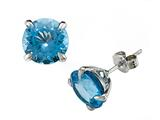 Genuine Blue Topaz Earrings by Effy Collection® style: 520158