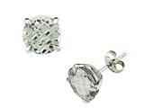 Genuine Green Amethyst Earrings by Effy Collection