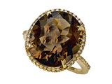 Genuine Smoky Quartz Ring by Effy Collection