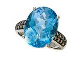 Genuine Blue Topaz Ring by Effy Collection®