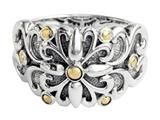 Balissima By Effy Collection Sterling Silver and 18k Yellow Gold Ring