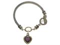 Pink Sapphire Sterling Silver Bracelet by Effy Collection