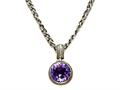 Amethyst Sterling Silver Necklace by Effy Collection