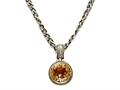 Citrine Sterling Silver Necklace by Effy Collection