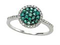 Genuine Emerald and Diamond Ring by Effy Collection®