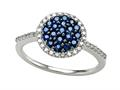 Genuine Sapphire and Diamond Ring by Effy Collection®