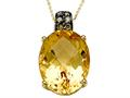 Genuine Citrine Necklace by Effy Collection