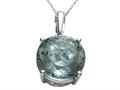 Genuine Green Amethyst Necklace / Pendant by Effy Collection®