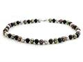 Balissima By Effy Collection Freshwater Multicolor (dyed) Pearl Necklace with Sterling Silver Lobster Clasp