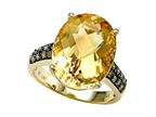 Genuine Citrine Ring by Effy Collection Style number: 520148