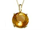 Genuine Citrine Necklace by Effy Collection Style number: 520157