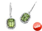 Genuine Peridot Earrings by Effy Collection® style: 520009