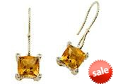 Genuine Citrine Earrings by Effy Collection® style: 520014