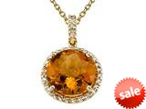 Genuine Citrine Pendant by Effy Collection®