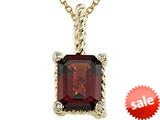 Genuine Garnet Pendant by Effy Collection® style: 520027