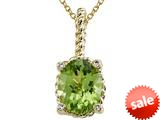 Genuine Peridot Pendant by Effy Collection® style: 520037