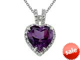 Genuine Amethyst Pendant by Effy Collection® style: 520039Y