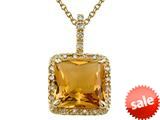 Genuine Citrine Pendant by Effy Collection® style: 520043