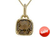 Genuine Smoky Quartz Pendant by Effy Collection®