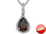 Genuine Garnet Pendant by Effy Collection® style: 520050