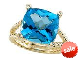 Genuine Blue Topaz Ring by Effy Collection® style: 520061