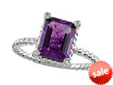 Genuine Amethyst Ring by Effy Collection® style: 520074