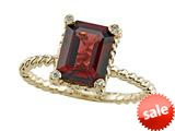 Genuine Garnet Ring by Effy Collection® style: 520075