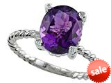 Genuine Amethyst Ring by Effy Collection® style: 520086