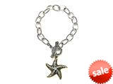 Star Charm Sterling Silver Bracelet by Effy Collection