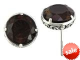 Balissima By Effy Collection Sterling Silver Smoky Quartz Earrings style: 520258