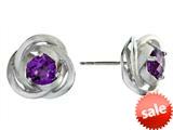Balissima By Effy Collection Sterling Silver Amethyst Earrings style: 520261