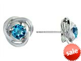Balissima By Effy Collection Sterling Silver Blue Topaz Earrings style: 520262