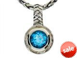 Balissima By Effy Collection Sterling Silver and 18k Yellow Gold Blue Topaz Pendant Necklace style: 520287