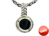 Balissima By Effy Collection Sterling Silver and 18k Yellow Gold Onyx Pendant Necklace style: 520292