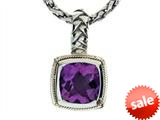Balissima By Effy Collection Sterling Silver and 18k Yellow Gold Amethyst Pendant Necklace style: 520300
