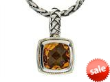 Balissima By Effy Collection Sterling Silver and 18k Yellow Gold Citrine Pendant Necklace style: 520303