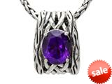 Balissima By Effy Collection Sterling Silver Amethyst Pendant Necklace style: 520311
