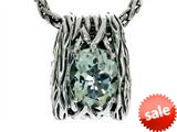 Balissima By Effy Collection Sterling Silver Green Amethyst Pendant Necklace style: 520312