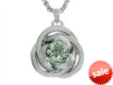 Balissima By Effy Collection Sterling Silver Green Amethyst Pendant Necklace style: 520318