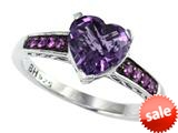 Balissima By Effy Collection Sterling Silver Amethyst and Pink Sapphire Ring style: 520374