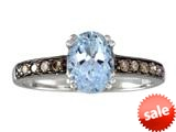 Effy Collection 14k White Gold Aquamarine Ring style: 520393