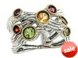 Balissima By Effy Collection Sterling Silver and 18k Yellow Gold 0.90 cttw Multicolor Ring style: 520420